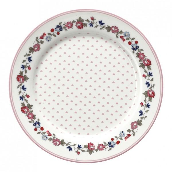 GreenGate Kids Plate / Teller Ruby Petit White