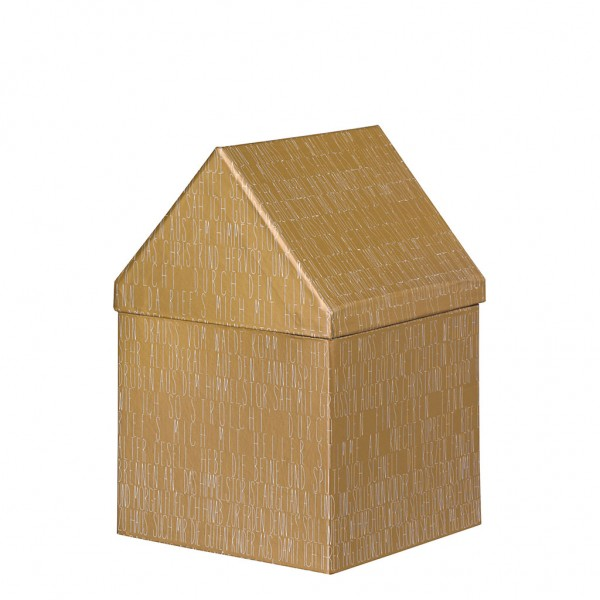 Geschenkbox Haus, mittel