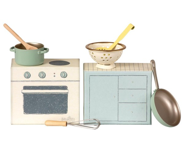 Maileg Kochset / Cooking set