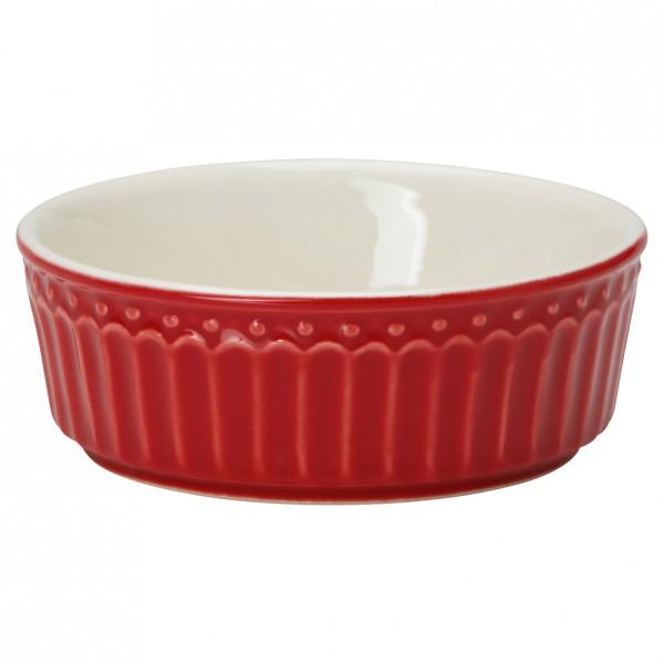 Greengate Kleine Auflaufform/Pie dish mini, Alice Red
