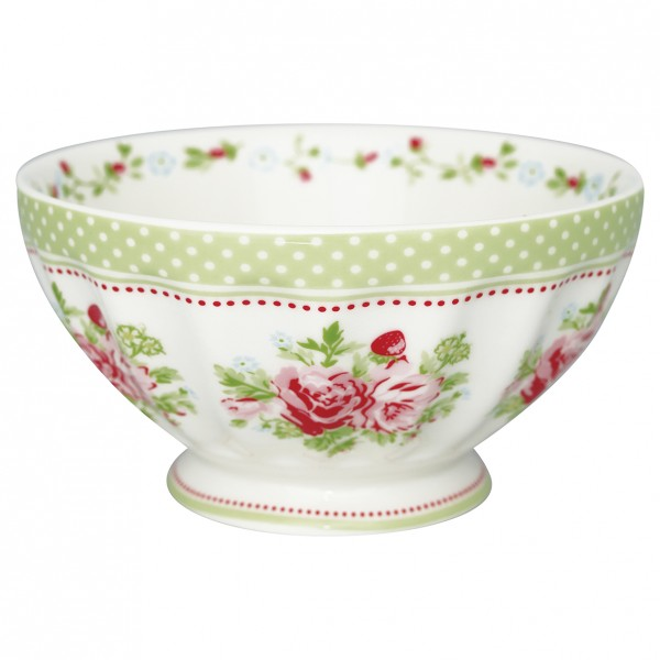 GreenGate Schale / French Bowl Mary White, xlarge