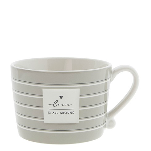 Bastion Collections Cup White / Love is all around