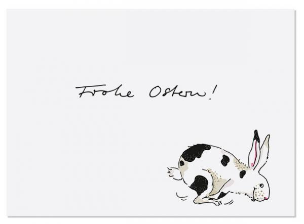 Krima & Isa Postkarte Frohe Ostern