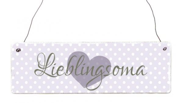 "Holzschild ""Lieblingsoma"""