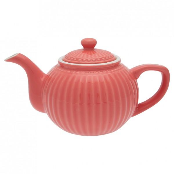 GreenGate Teekanne Alice Coral