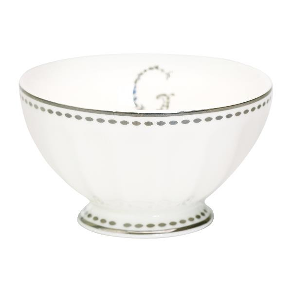 GreenGate Schale / French Bowl G silver, medium