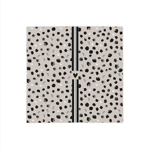 Bastion Collections Kleine Papierservietten Happy Dots