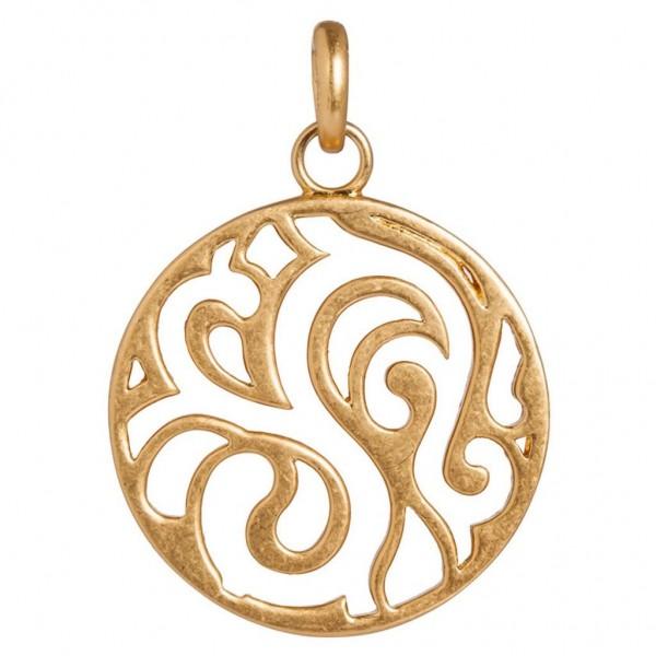 SENCE Copenhagen Charm / Anhänger Ornament, matt gold
