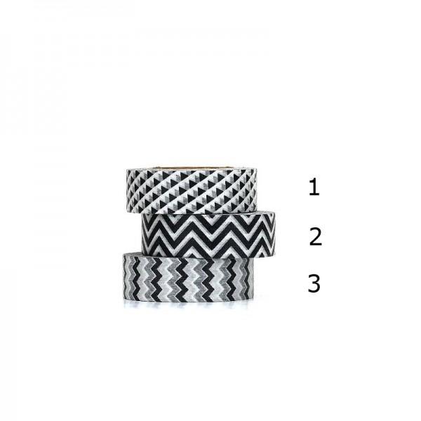 Tafelgut Masking Tape / Klebeband Silver/Red