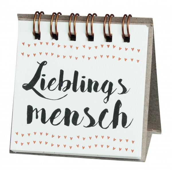 """Herzstücke Kleine Botschaften """"Lieblingsmensch"""""""