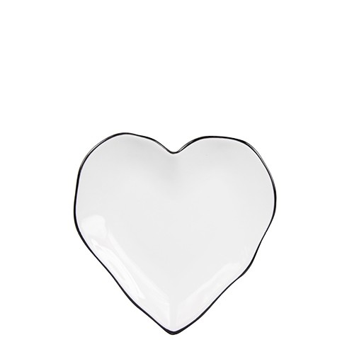 Bastion Collections Heart Plate / Herz Teller