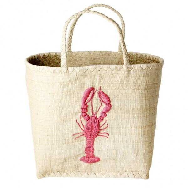 Rice Korb/Einkaufstasche, Lobster