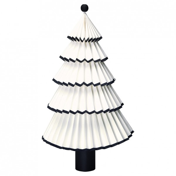 Greengate Weihnachtsbaum Tree Paper Nova white/black, Mittel