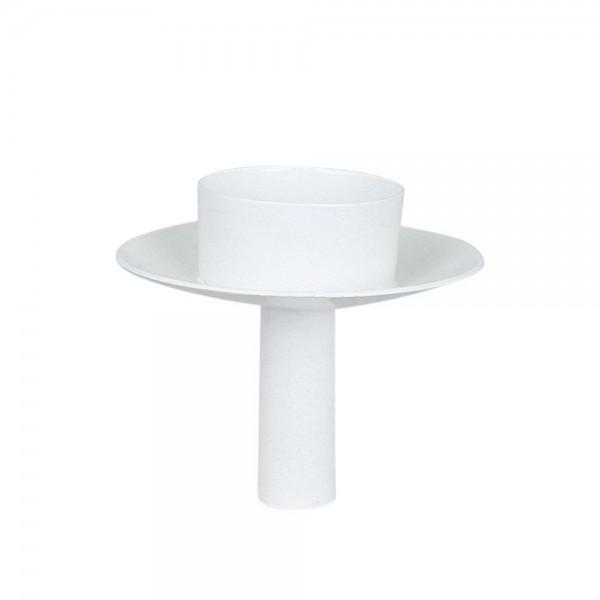 Strömshaga Teelichthalter für Flaschen, Weiß
