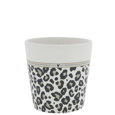 Bastion Collections Becher / Mug Leopard and Stripes, SS21