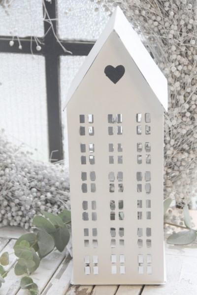 """Lichthaus aus Metall """"Schmales Haus"""", extra groß"""