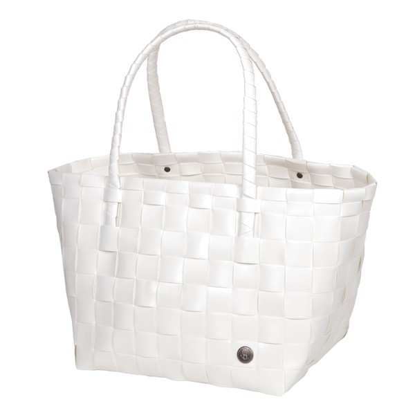 "Handed By Shopper ""Paris"", white"