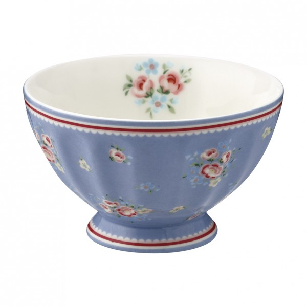 GreenGate Schale / French Bowl Nicoline Dusty Blue, medium