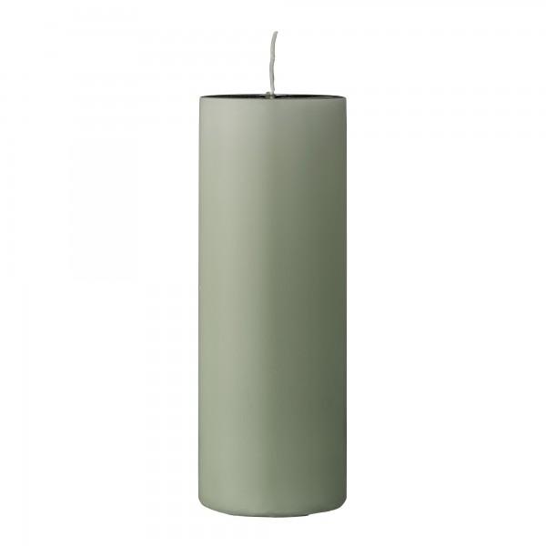 Bloomingville Kerze aus Paraffin Hellgrün, 20 cm
