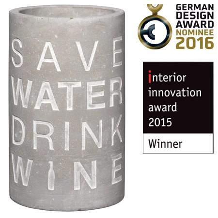 """Räder Weinkühler """"Save Water"""""""