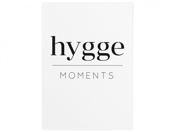 "Holzschild ""hygge Moments"""