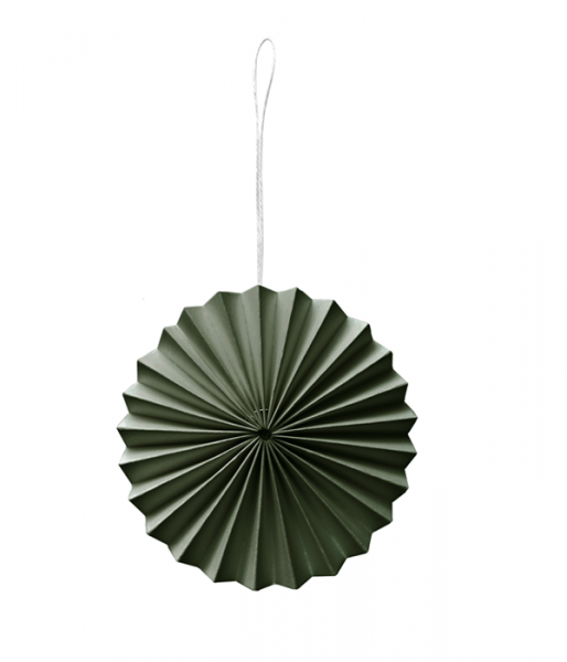 Papier-Ornament, Grün
