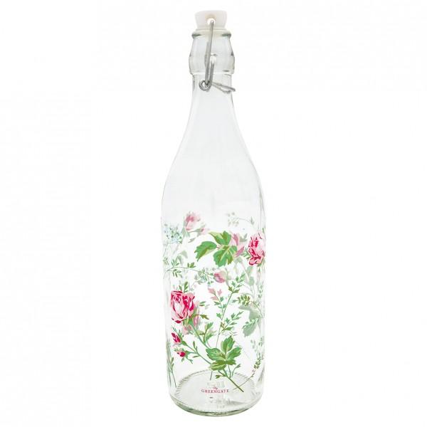 GreenGate Glasflasche, Constance White