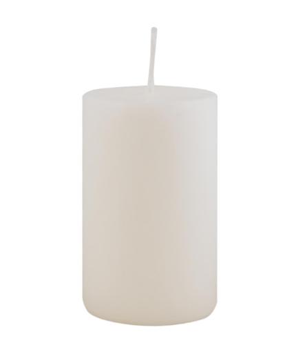Ib Laursen Stumpenkerze weiß, 10 cm