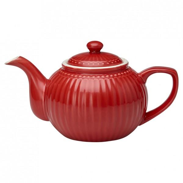 GreenGate Teekanne Alice Red