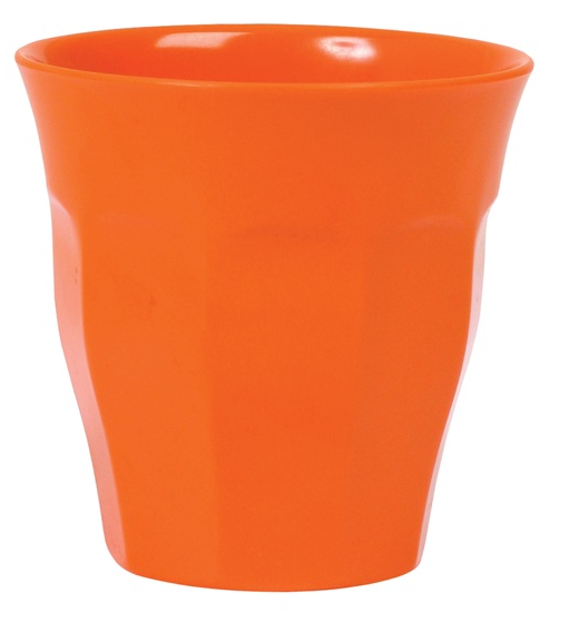 Rice Melamin Becher, Orange