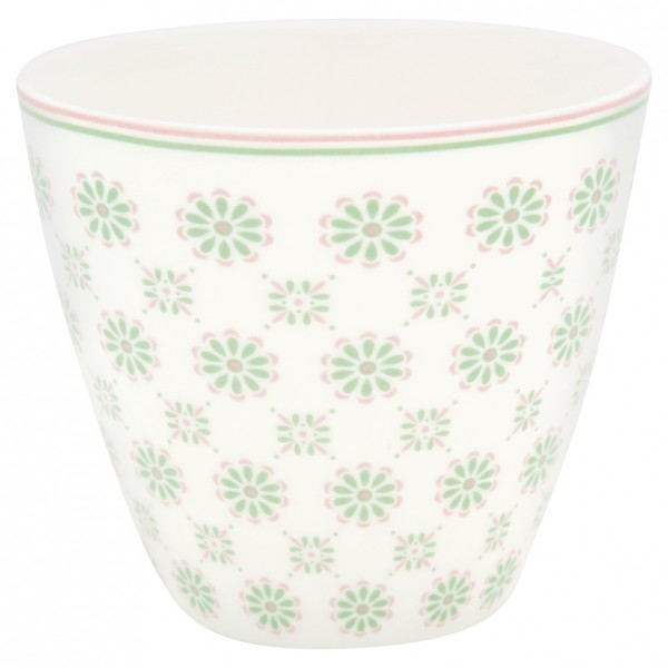 Greengate Latte Cup Mila white