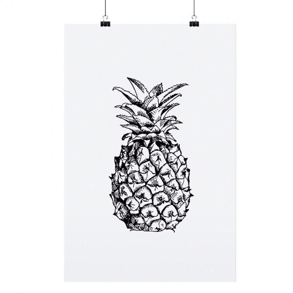 "Tafelgut Poster ""Pineapple"", A3"