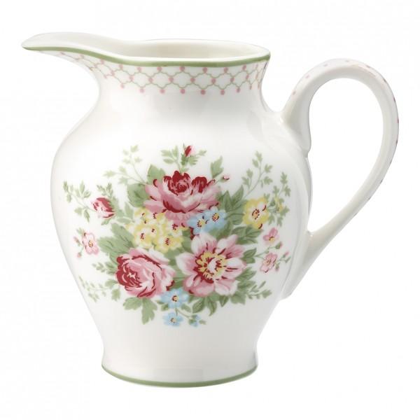 GreenGate Creamer Milchkännchen Aurelia White