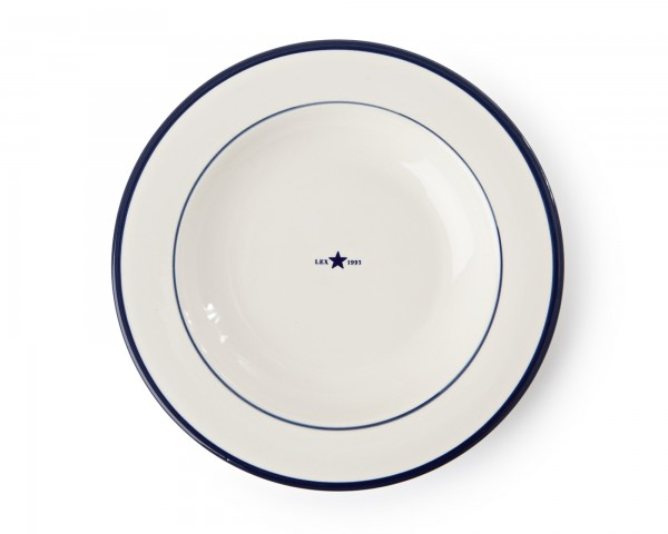 Lexington Soup Plate/Suppenteller, blau