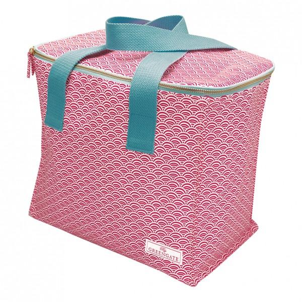 GreenGate Kühltasche / Cooler Bag, Nancy Red mit Trageriemen