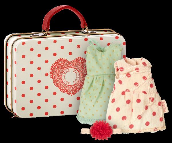 Maileg Köfferchen mit 2 Kleidungsstücken