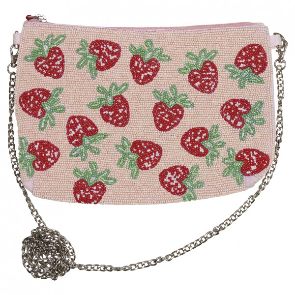 GreenGate Handtasche Strawberry Pale Pink