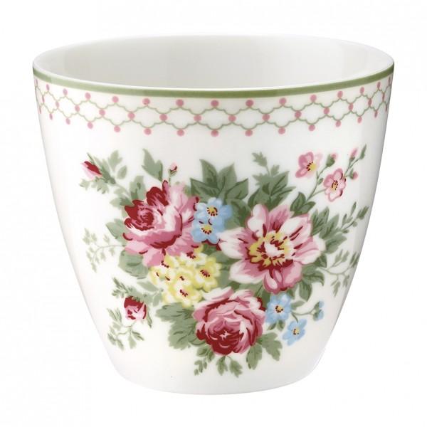 Greengate Latte Cup Aurelia White