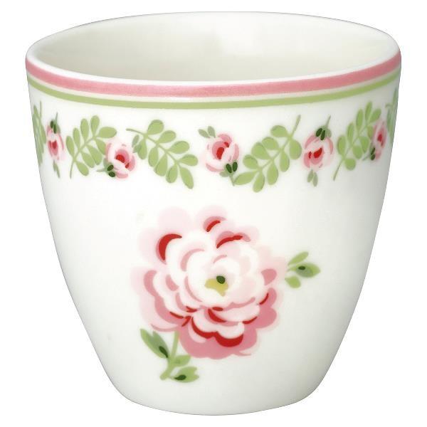 GreenGate Mini Latte Cup Lily petit white