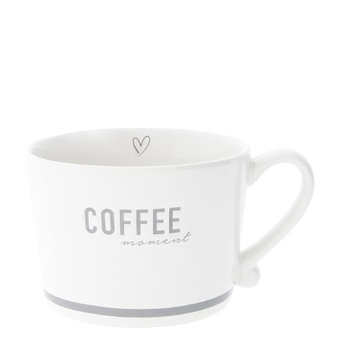 Bastion Collections Cup White / Coffee Moment in Grey