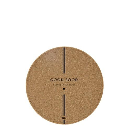 Untersetzer aus Kork, Good Food