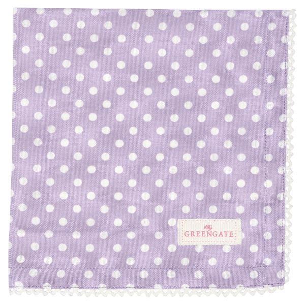 GreenGate Stoffserviette Spot lavendar