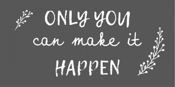 """Ib Laursen Magnet, """"Only you can make it happen"""""""
