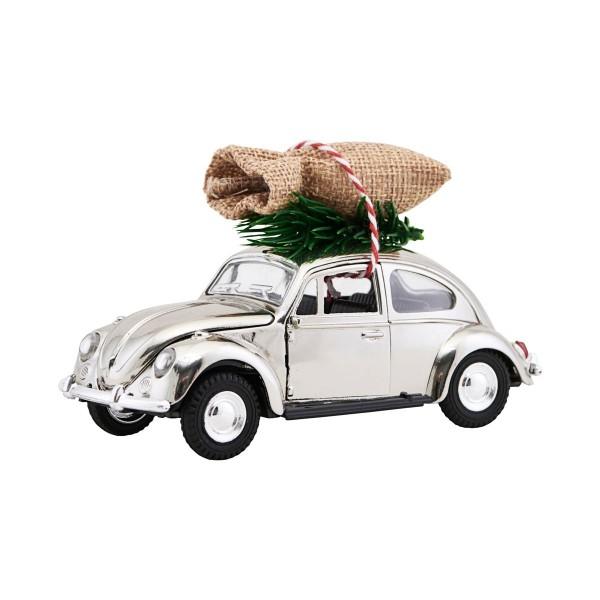 house doctor XMas Car / VW Käfer (chrome)