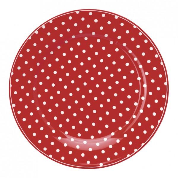 Greengate Teller Spot Red