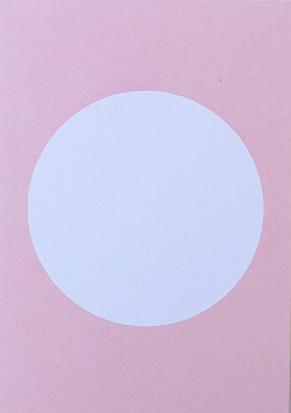 Perlenfischer Postkarte Kreis Rosa