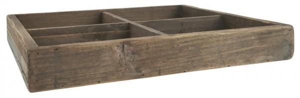 Ib Laursen Holzkiste mit 4 Fächern