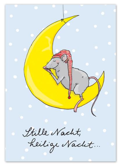Krima & Isa Postkarte Stille Nacht