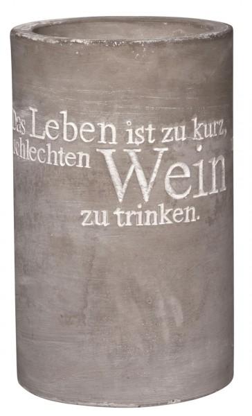 """Räder Weinkühler """"Das Leben ist zu kurz"""""""