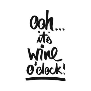 "Papierservietten ""Wine o'clock"""